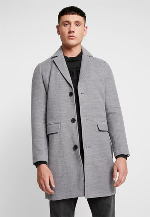 SINGLE BREASTED OVERCOAT - Zimní kabát - grey
