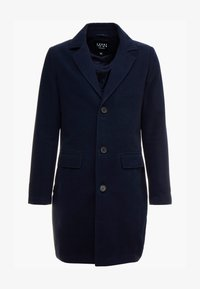 boohoo MAN - SINGLE BREASTED OVERCOAT - Classic coat - navy - 5