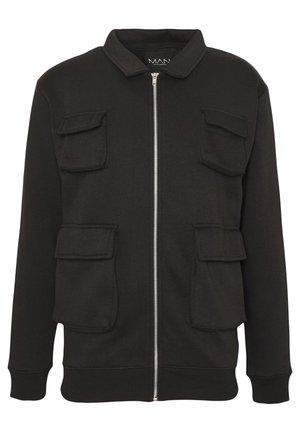 UTILITY 4 POCKET HARRINGTON JACKET - Summer jacket - black