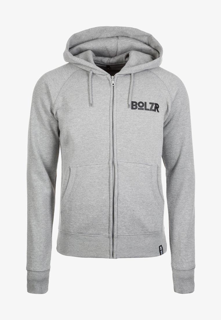 Bolzr - Bluza rozpinana - grey