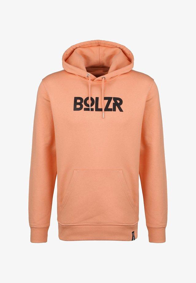 BOLZR HOODIE HERREN - Hoodie - orange