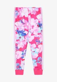 Bonds - LOGO TRACKIE - Pantalon de survêtement - hibiscus - 2