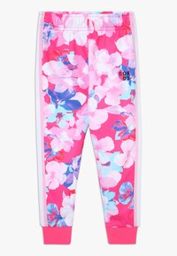 Bonds - LOGO TRACKIE - Tracksuit bottoms - hibiscus - 0
