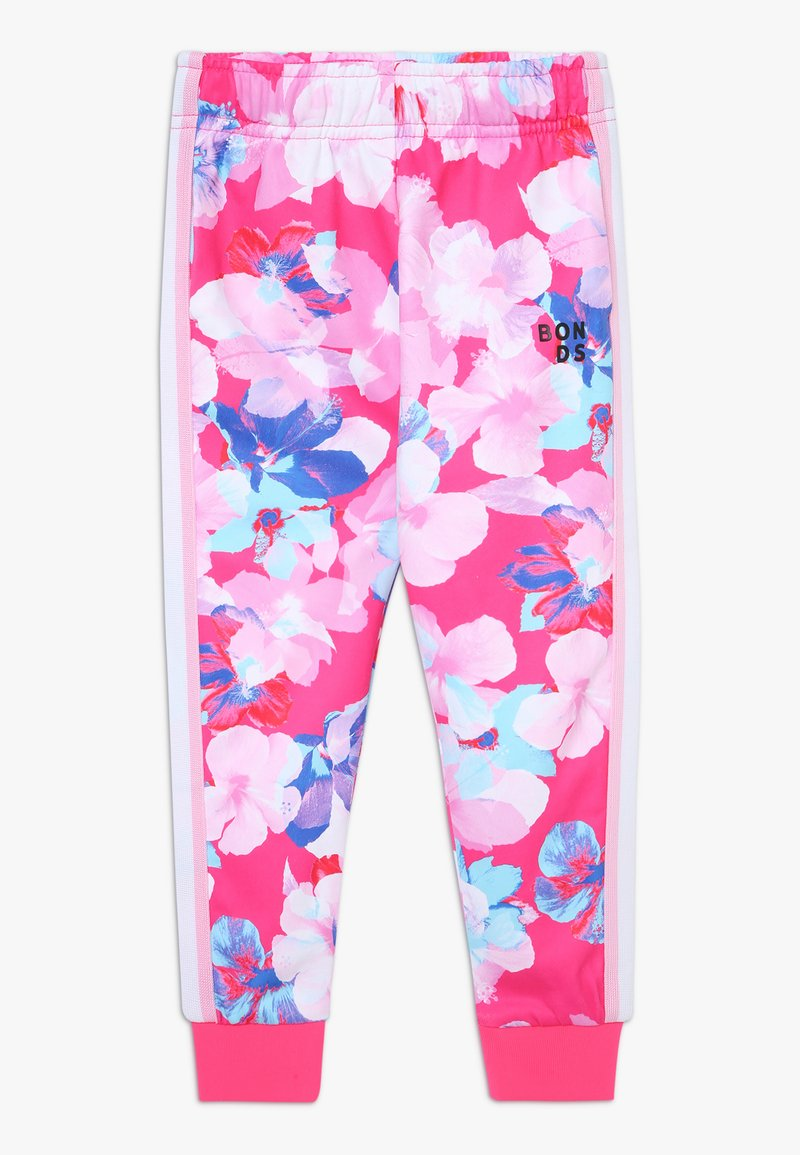 Bonds - LOGO TRACKIE - Tracksuit bottoms - hibiscus