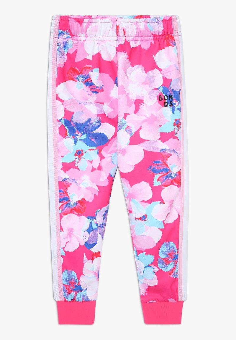 Bonds - LOGO TRACKIE - Pantalon de survêtement - hibiscus