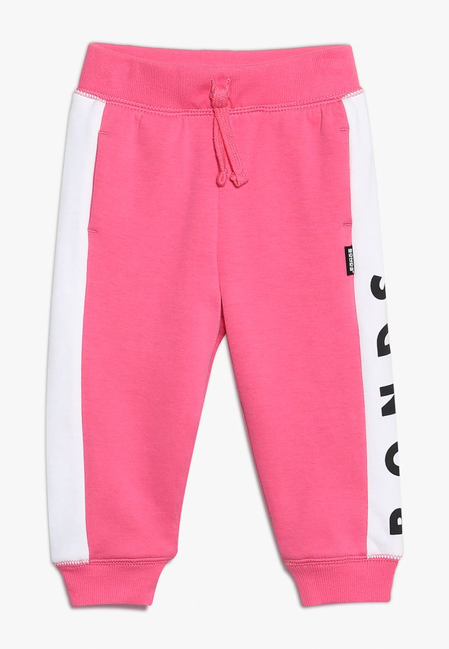 COOL TRACKIE - Trousers - delta nu/white