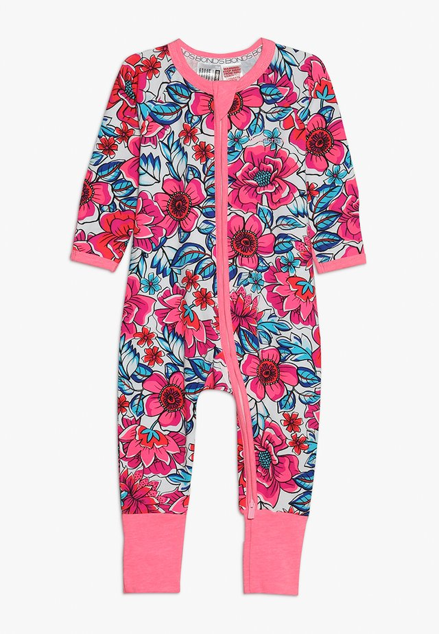 ZIP WONDERSUIT BABY - Mono - pink