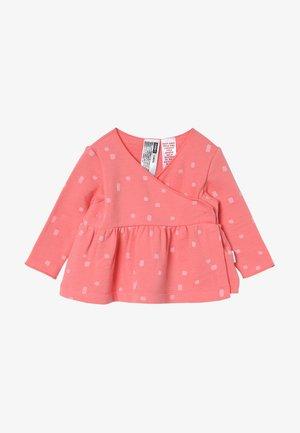 NEWBIES WRAP CARDI BABY - Felpa aperta - pink