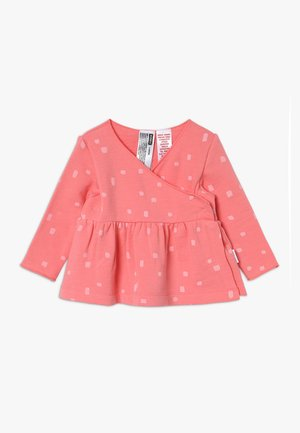 NEWBIES WRAP CARDI BABY - Mikina na zip - pink