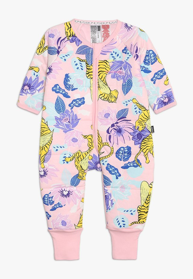 PADDED ZIPPY BABY - Mono - pink