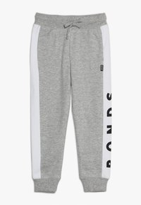 Bonds - COOL TRACKIE - Tracksuit bottoms - new grey marle/white - 0