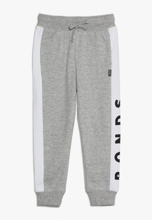 COOL TRACKIE - Pantaloni sportivi - new grey marle/white