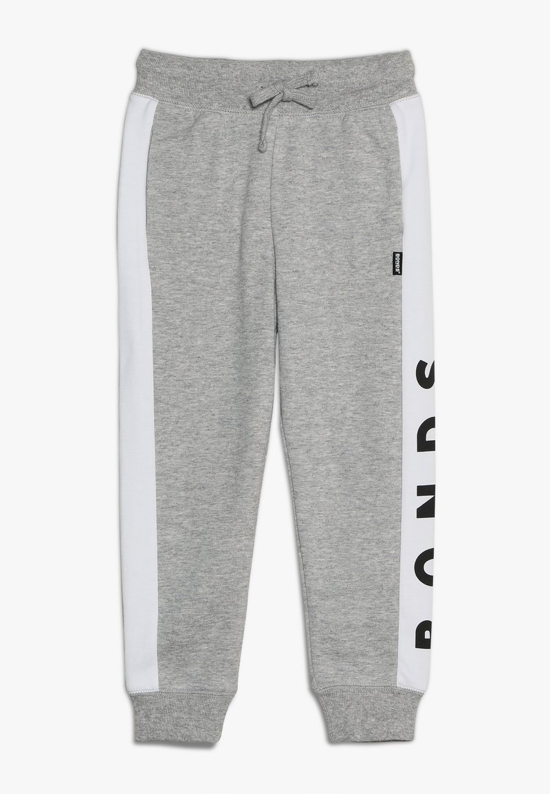 Bonds - COOL TRACKIE - Tracksuit bottoms - new grey marle/white