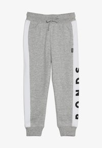 Bonds - COOL TRACKIE - Tracksuit bottoms - new grey marle/white - 3