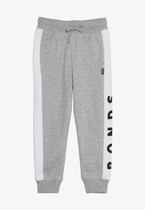 COOL TRACKIE - Tracksuit bottoms - new grey marle/white