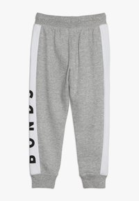 Bonds - COOL TRACKIE - Tracksuit bottoms - new grey marle/white - 1