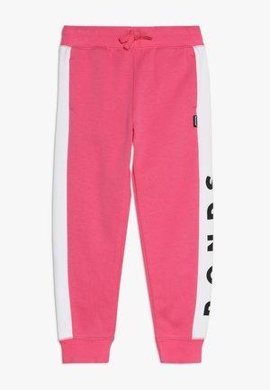 COOL TRACKIE - Pantalon de survêtement - delta nu / white