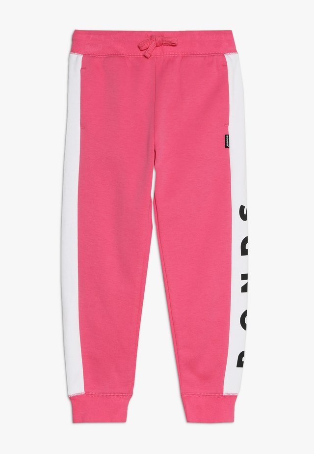 COOL TRACKIE - Tracksuit bottoms - delta nu / white