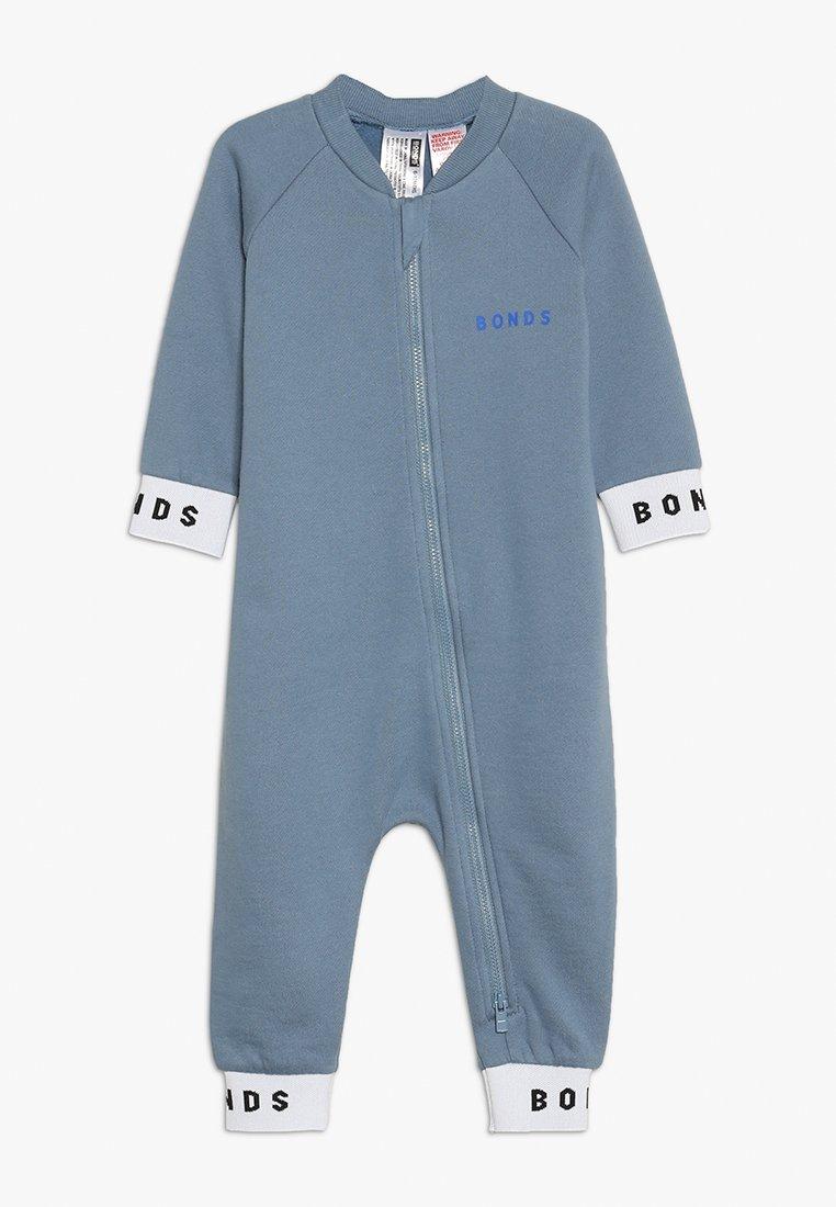 Bonds - LOGO ZIPPY - Jumpsuit - dark grey