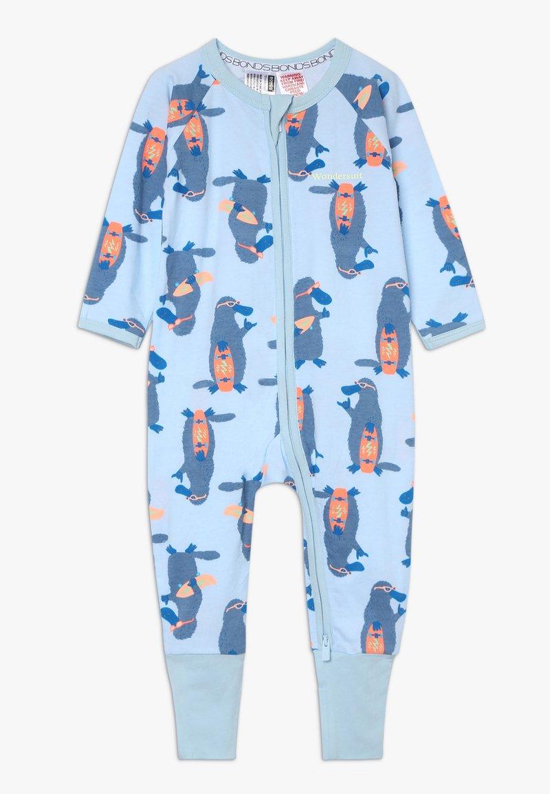 Bonds - ZIP WONDERSUIT BABY - Overall / Jumpsuit /Buksedragter - light blue