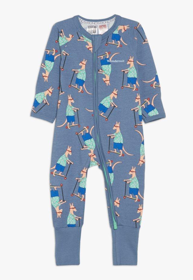 ZIP WONDERSUIT BABY - Overall / Jumpsuit /Buksedragter - light blue