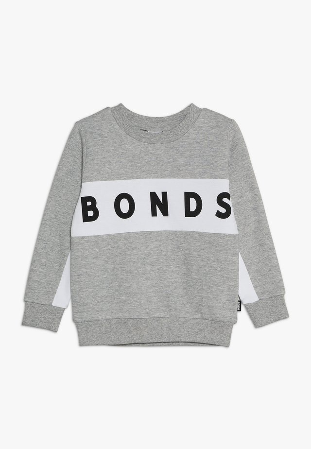 COOL - Sweatshirt - new grey marle/white