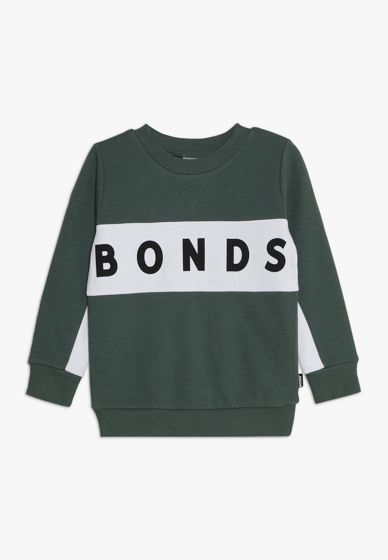 Bonds - COOL - Sweater - wollemia pine / white