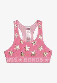 Bonds - BAND RACER CROP - Korzet - light pink/pink - 0