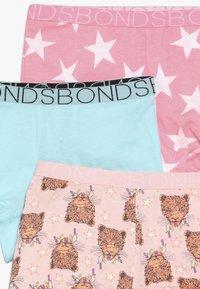 Bonds - SHORTIE XMAS 3 PACK - Boxerky - light pink/turquoise - 4