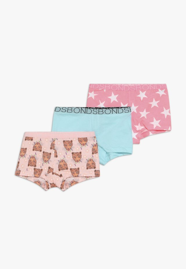 SHORTIE XMAS 3 PACK - Pants - light pink/turquoise