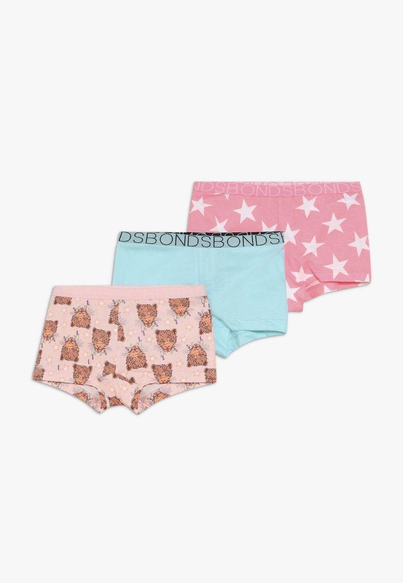 Bonds - SHORTIE XMAS 3 PACK - Boxerky - light pink/turquoise