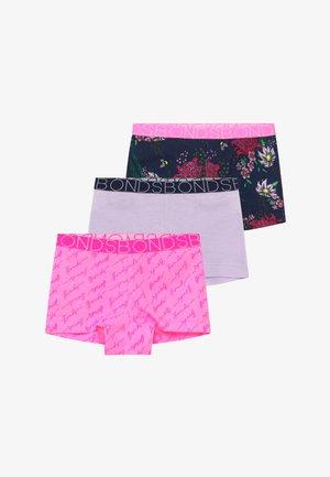 3 PACK - Panties - light pink/purple/dark blue