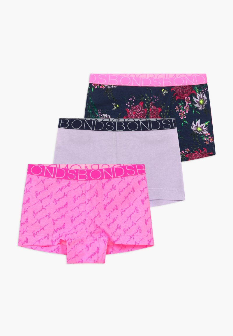 Bonds - 3 PACK - Panties - light pink/purple/dark blue