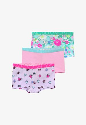 3 PACK - Boxerky - pink/purple/dark blue