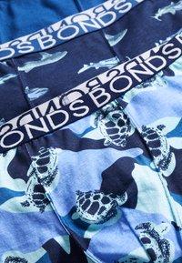 Bonds - TRUNK 3 PACK - Boxerky - blue - 4