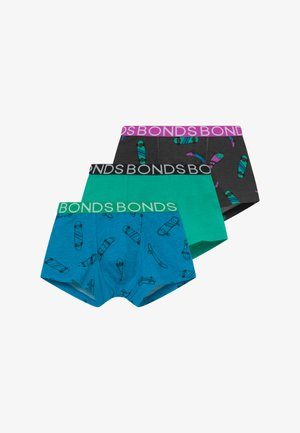 TRUNK 3 PACK - Culotte - blue/turquoise