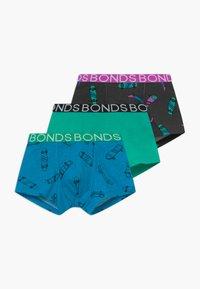 Bonds - TRUNK 3 PACK - Panties - blue/turquoise - 0