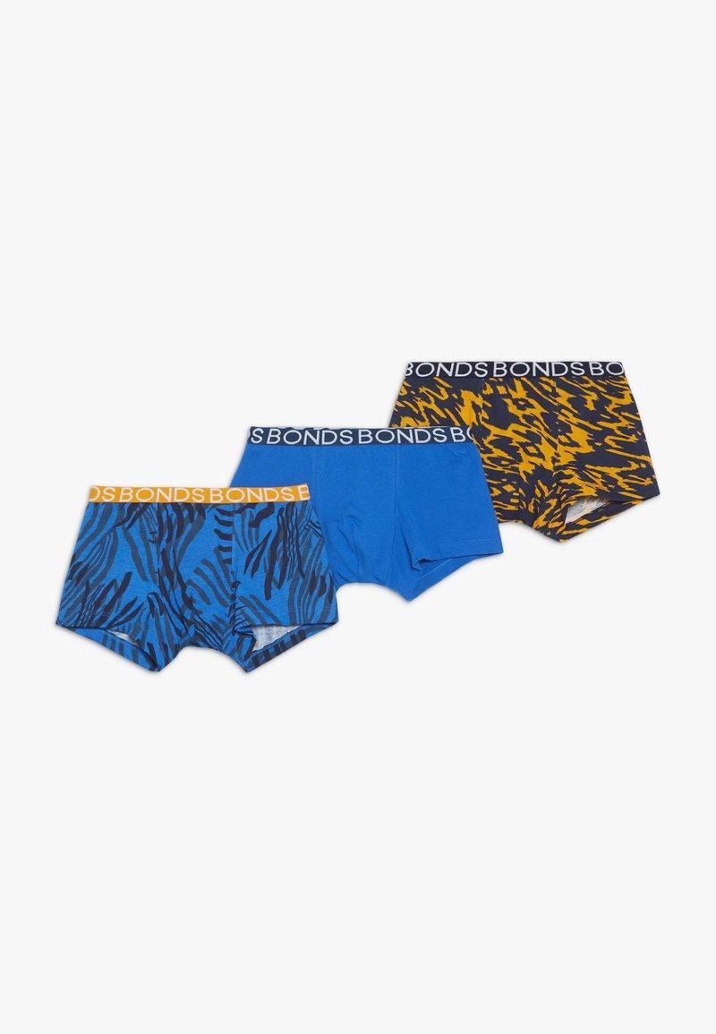 Bonds - TRUNK 3 PACK - Panties - multi-coloured/blue