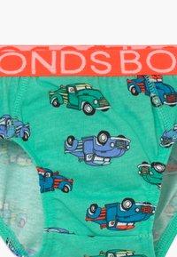 Bonds - BRIEF 4 PACK  - Kalhotky - green/blue - 4