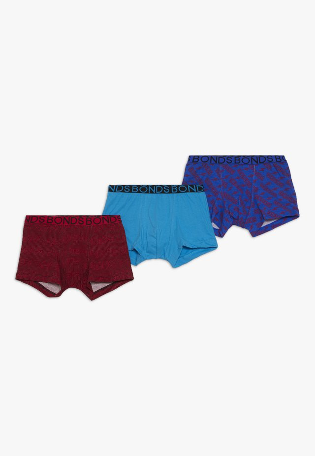 TRUNK XMAS 3PACK - Boxerky - dark blue/red