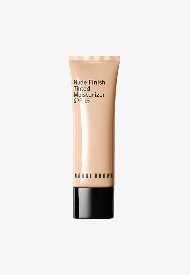 NUDE FINISH TINTED MOISTURIZER SPF15  - Tinted moisturiser - cd9367 dark