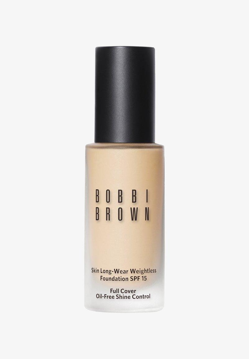 Bobbi Brown - SKIN LONG WEAR WEIGHTLESS FOUNDATION SPF15 30ML - Foundation - F5E0C8 alabaster