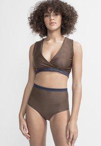 boochen - ENOSHIMA - Bikini bottoms - dark blue - 3