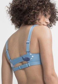 boochen - CAPARICA - Bikini top - light blue - 4