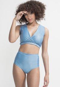 boochen - ENOSHIMA - Bikini top - light blue - 3