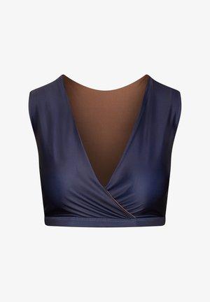 ENOSHIMA - Bikini top - dark blue