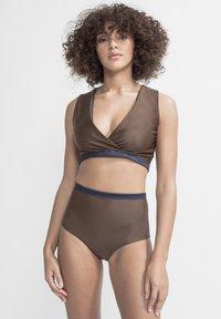 boochen - ENOSHIMA - Bikini top - dark blue - 3