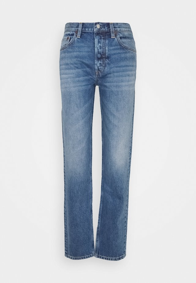 LONG HIGH RISE STRAIGHT  - Jeans Straight Leg - greed