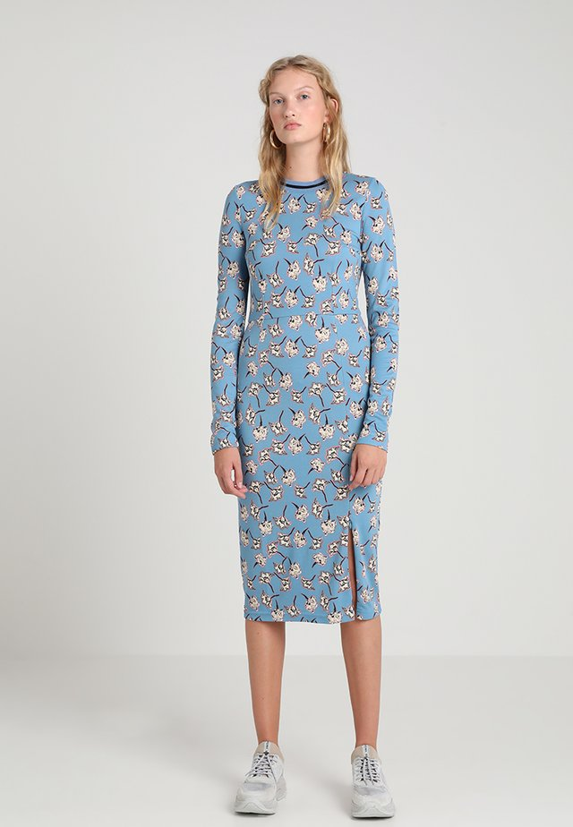 JAIDEN - Robe fourreau - blue