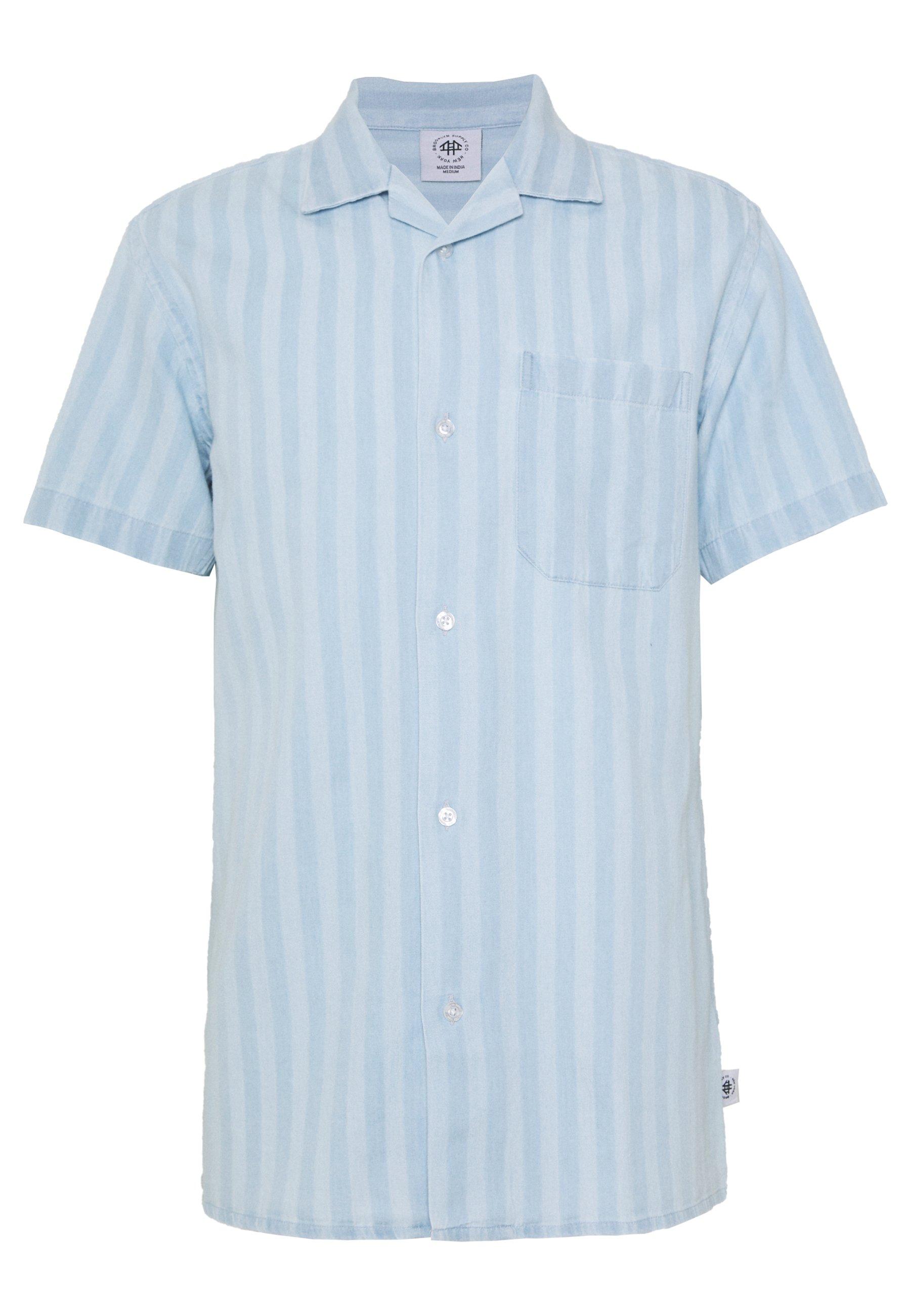 Brooklyn Supply Co. Koszula - light blue